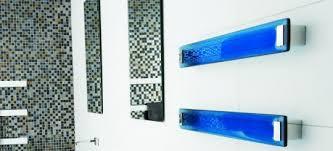 glass heated towel rail