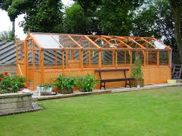 garden greenhouse ideas chic greenhouse with extended wall design inexpensive greenhouse