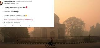 Odd Memes - the delhi smog is so odd that memes want to get even t2 online