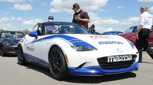 mazda global website 2017 mazda global mx 5 cup race car first drive video