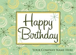 custom happy birthday postcards pc7046 harrison greetings