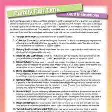 20 family ideas
