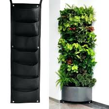 decorative wall planters indoor set 9 x cone shape wall vase wall
