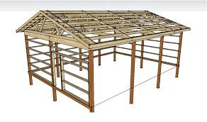 24x36 Garage Plans by Pole Barn Plans And Materials Redneck Diy