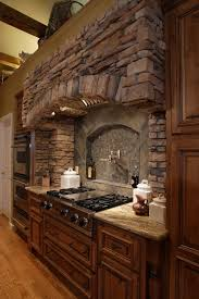 faux stone kitchen backsplash kitchen best 25 stone backsplash ideas on pinterest stacked slate