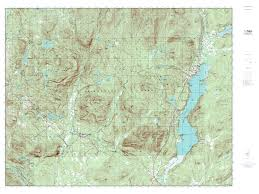 Lancaster Ohio Map by Mytopo Schroon Lake New York Usgs Quad Topo Map