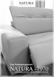 sofa elektrisch verstellbar natura 7970 by möbel wikinger issuu