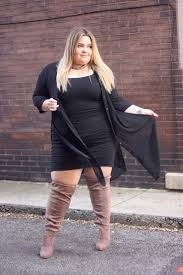 s boots plus size calf these thigh high boots from fashion to figure fit wide calfs and
