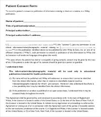 consent form template 9 free word pdf documents download free