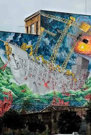 133 best blu images on pinterest street artists street art blu porto fluviale roma mural artwall