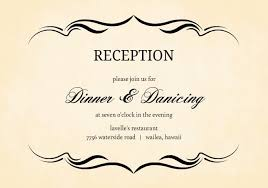 wedding reception wording unique wedding announcement wording you will
