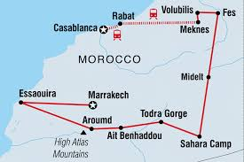 Marrakech Map World by Best Of Morocco Morocco Tours Intrepid Travel Gb