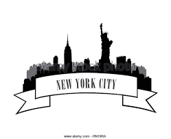 new york city skyline stock vector images alamy