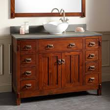 Oak Bathroom Furniture Oak Bathroom Sink Vanity Signature Hardware