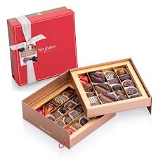 gift box luxury tiered gift box with pralines 40 pcs for delivery in the us