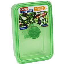 woolworths home decor decor leak proof lunch box 1l assorted each woolworths