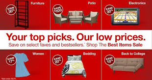 target best items sale shopping