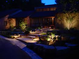 Lights For Outdoors Amazing Garden Designs With Led Lights Outdoor Landscape Lighting