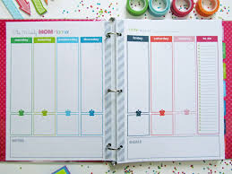 Home Planner by Clean Life And Home The Mom Planner Printable Home Management