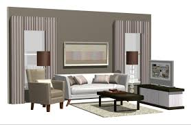 a virtual apartment was created in 3d based on interior designer u0027s