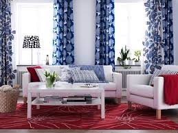Red White Blue Decorating Ideas Patriotic Decor Th Of July Red - Red and blue living room decor