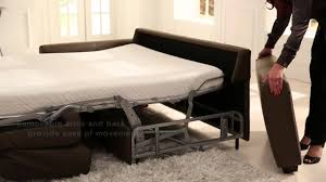 Sofa Come Bed Furniture Palliser Furniture My Comfort Sofabed Operation Youtube
