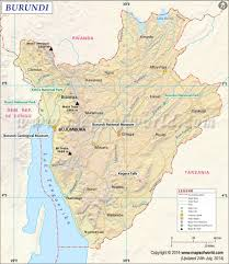 Map Of Rwanda Map