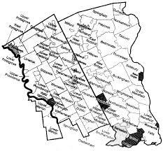 bucks county map maps