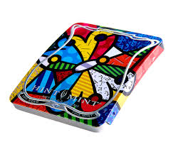 britto garden hint mint classic mints romero britto artist series set of six