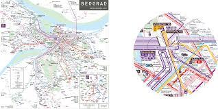 Transport Map Maps Jug Cerovic Architect