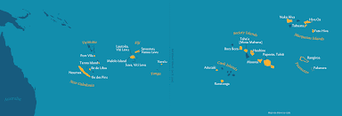 Map Of Bora Bora Voyage Search Paul Gauguin Cruises