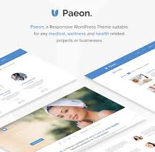 paeon medical wordpress theme by nicethemes themeforest