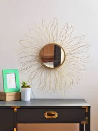 look for less anthropologie inspired starburst mirror blitsy