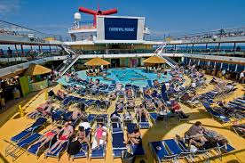 Carnival Magic Floor Plan Lido Deck Carnival Glory Pictures