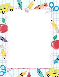 border writing paper my page frames image