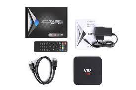 cheapest kodi streaming player v88 internet tv decoder support