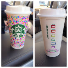 Coffee Cup Design by Decorate A Reusable Starbucks Cup With Sharpies Decorated