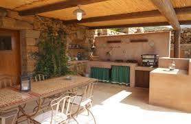 cuisine de jardin en aménager une cuisine d été avec coin relax dans le jardin