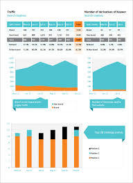 monthly report template ppt 12 seo report templates free sle exle format