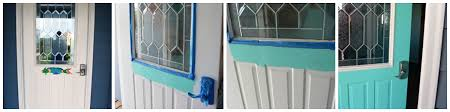 Teal Front Door by Home Decor Colorful Doors The Painted Apron