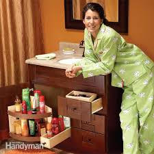 bathroom vanity storage ideas bathroom vanity storage upgrades family handyman