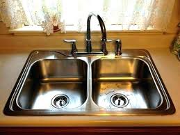 how to unclog a double kitchen sink how to unclog a kitchen sink with standing water best unclog kitchen
