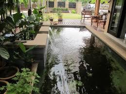 Indoor Garden by Design Ideas Indoor Fish Pond Design With Indoor Garden Fish