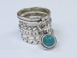 silver rings vintage images Sterling silver ring vintage inspired turquoise ring sterling jpg