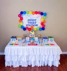 Kara U0027s Party Ideas Rainbow Art Birthday Party Planning Ideas
