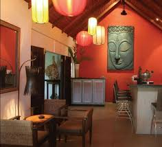 Thai StyleGreat Use Of Color To Create Inviting Small Room - Thai style interior design