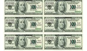 one hundred dollar bill template and 100 bill template virtren