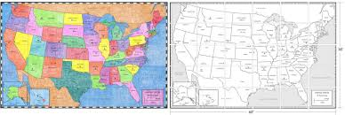 Kids Map Of The United States by Us Map Mural Diagram Art Projects For Kids