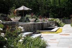 Elevated Front Yard Landscaping - split level landscape houzz