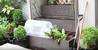 Homemade Garden Box gardening ideas how to make an easy planter box greenhouse